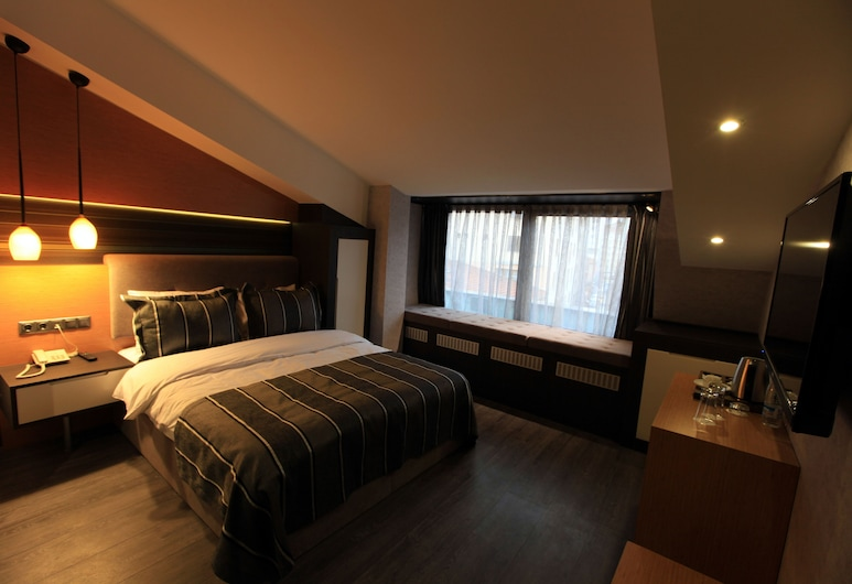 The Black Hotel, Eskisehir, Deluxe Double Room Single Use, Guest Room