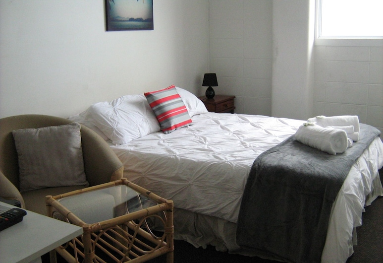 Downtown Backpackers, Nelson, Chambre, 1 grand lit, Chambre