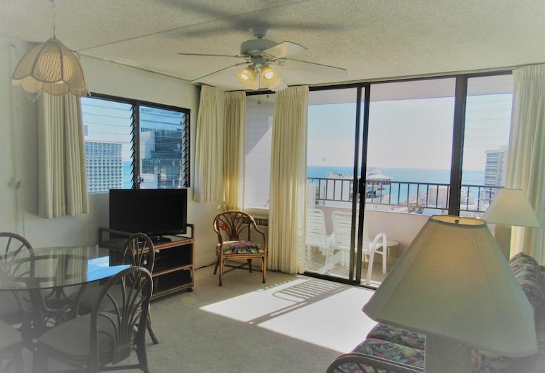 Royal Waikiki Condos, Honolulu, Studio, Wiele łóżek, kuchnia, Powierzchnia mieszkalna