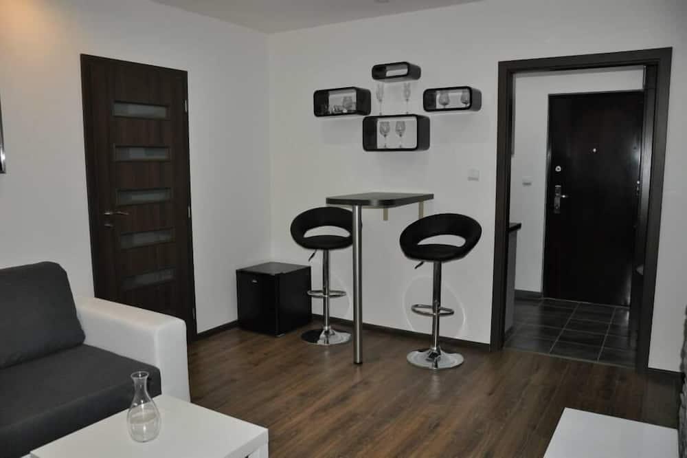 Luxury-Apartment, 1King-Bett und Schlafsofa - Wohnbereich
