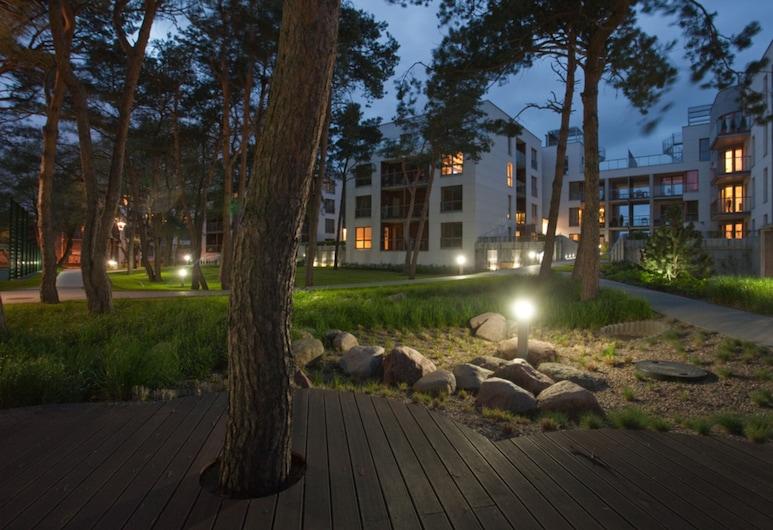 Dom & House - Apartments Nadmorski Dwor, Gdansk, Pohľad na zariadenie - večer