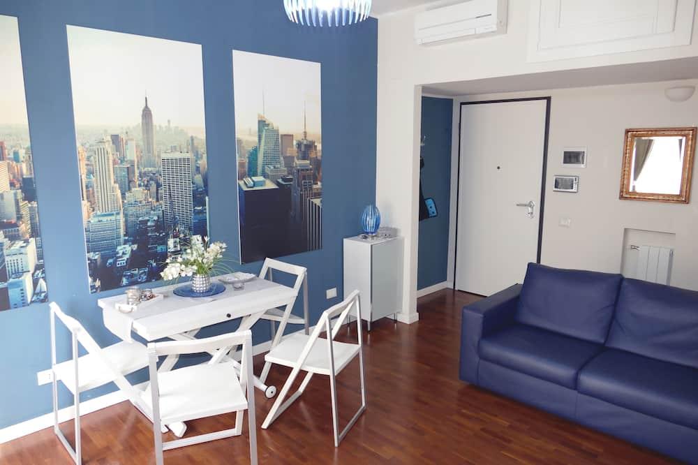 Suite panorámica, 1 cama doble con sofá cama, vista a la ciudad - Servicio de comidas en la habitación