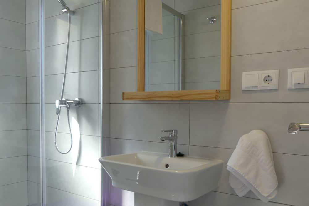 標準雙人房, 露台, 城市景 - 浴室