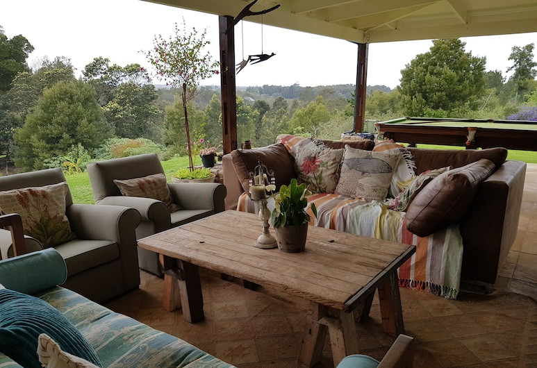 Camphor Tree Cottage, Wilderness, Terraza o patio