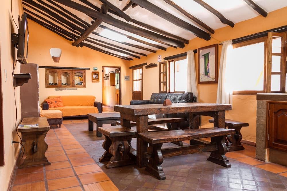 Familienhaus, 4Schlafzimmer (10 Personas) - Wohnbereich