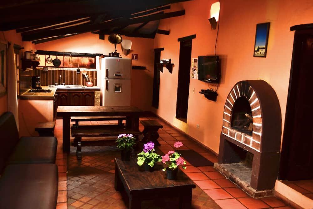 Familienhaus, 4Schlafzimmer (10 Personas) - Wohnzimmer