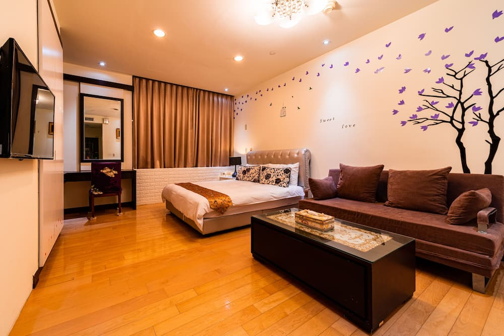 Habitación estándar doble, baño privado - Zona de estar