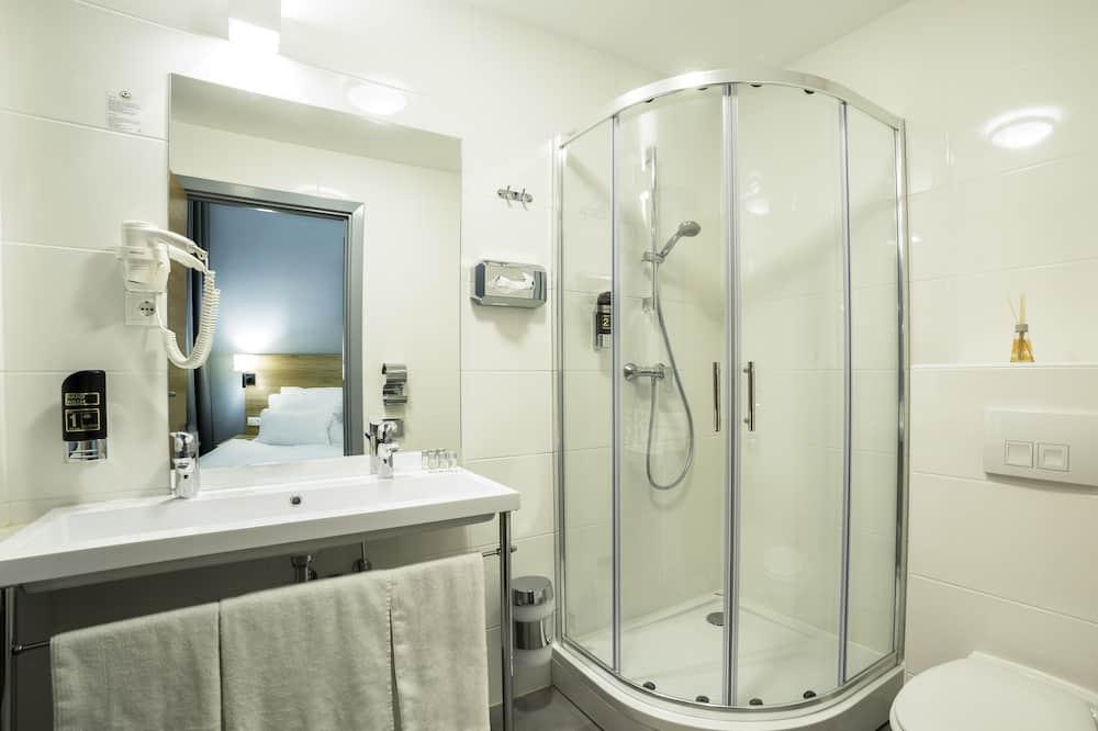 Standardní pokoj s dvojlůžkem, nekuřácký - Koupelna