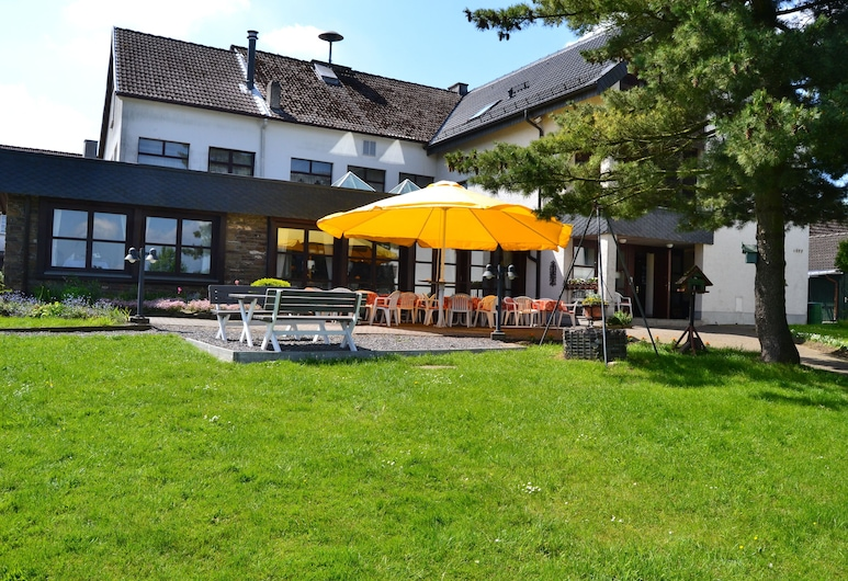 Gasthof Spelsberg, Altena, Restaurante al aire libre