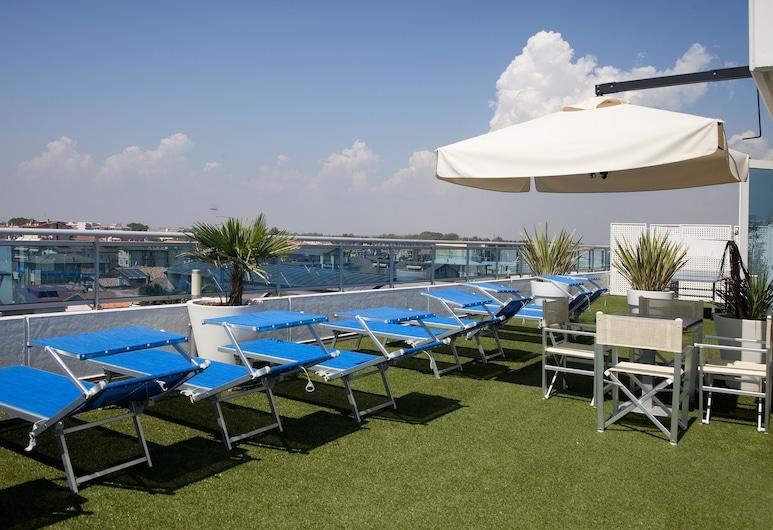 Hotel Tropical, Jesolo, Sonnenterrasse