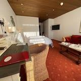 Deluxe-Doppelzimmer, eingeschränkter Meerblick - Wohnbereich