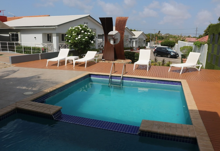 Lilu Apartments Curacao, Willemstad, Pool