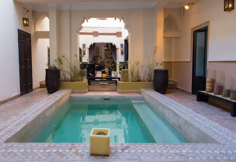 Riad 5 Sens, Marrakech, Piscina Exterior