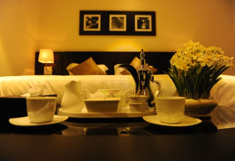 Al Fahad Hotel Suites- Al Tahliya, Jedda, Standard dubbelrum, Rum