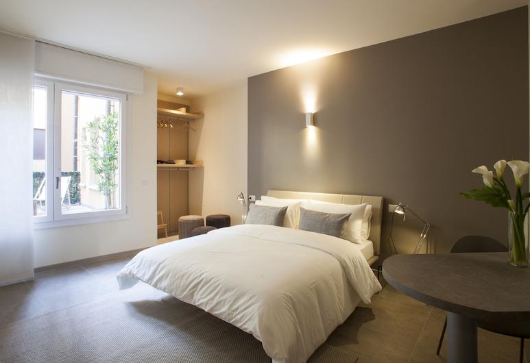 Erïk Langer Pedrocchi Suites, Padova, Štúdio typu Deluxe, 1 spálňa, terasa, Izba