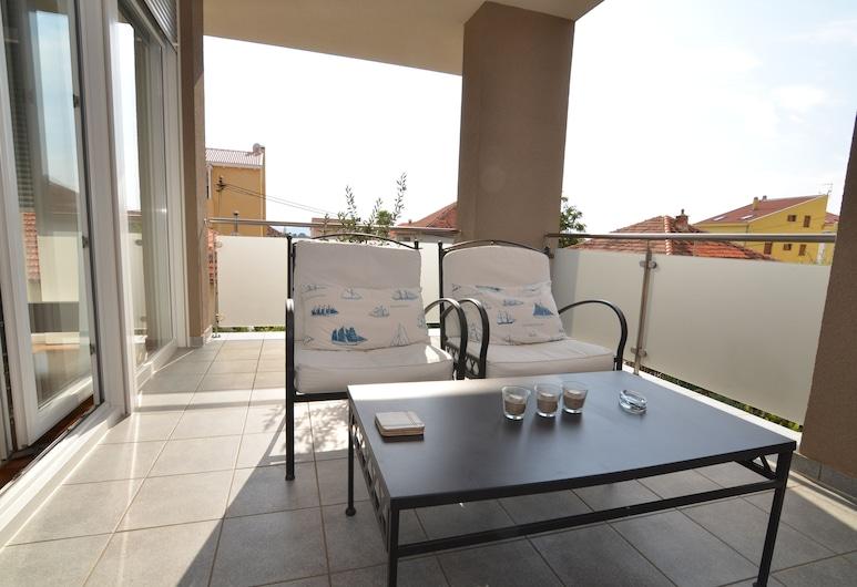 Villa Diana Zadar, Zadar, Deluxe appartement, 2 slaapkamers, terras, uitzicht op tuin, Balkon