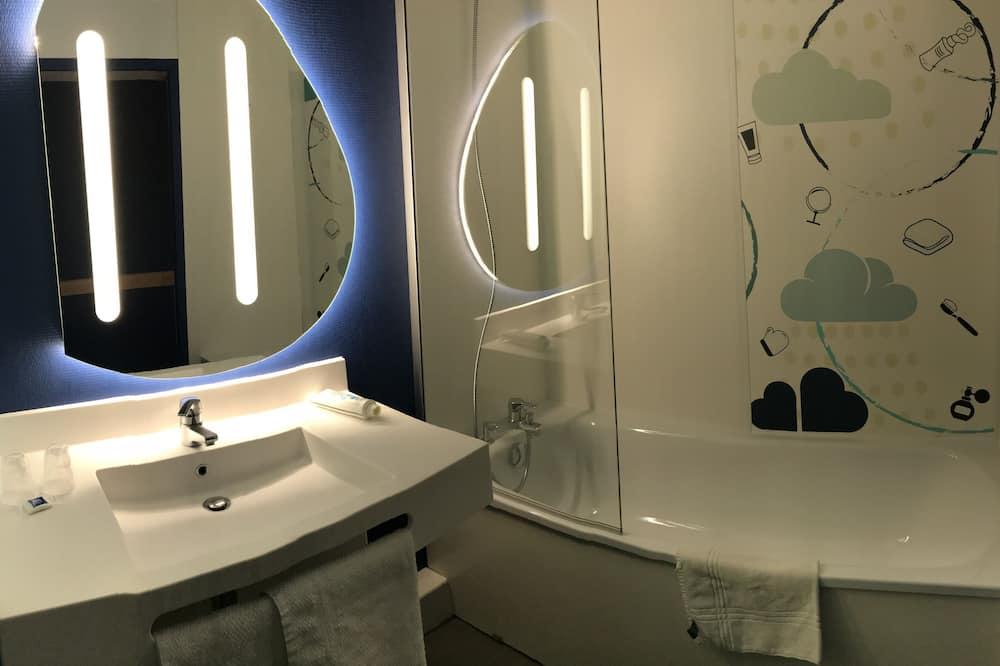 Δίκλινο Δωμάτιο (Double), 1 Μονό Κρεβάτι - Μπάνιο