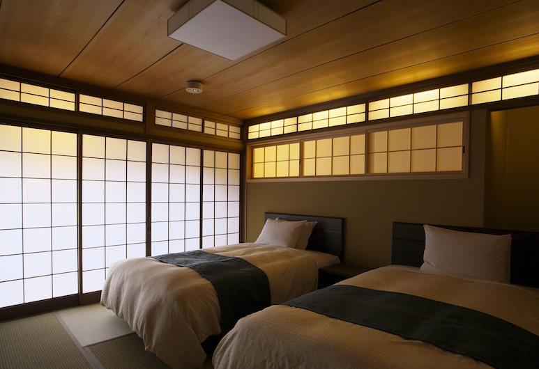 京都清水的町家和飯店, Kyoto, 傳統複式房屋, 1 間臥室, 庭園景觀 (MOON), 客房