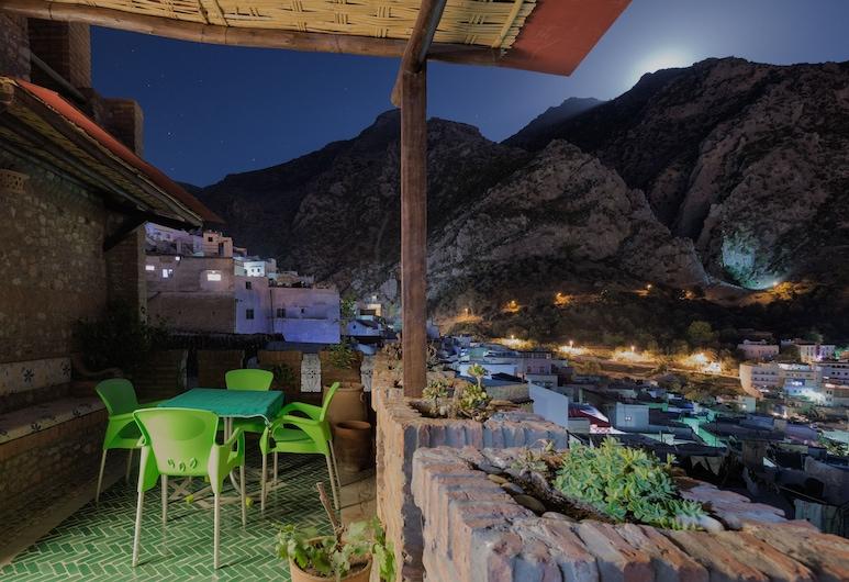 Riad Gharnata, Chauen, Suite panorámica (Farida), Terraza o patio