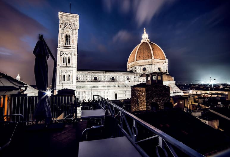 Hotel Villani, Florence, View from Hotel