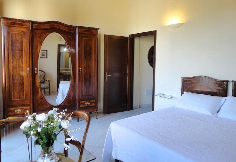 Liberty, Quartucciu, Kambarys (1 dvigulė / 2 viengulės lovos), balkonas, Svečių kambarys