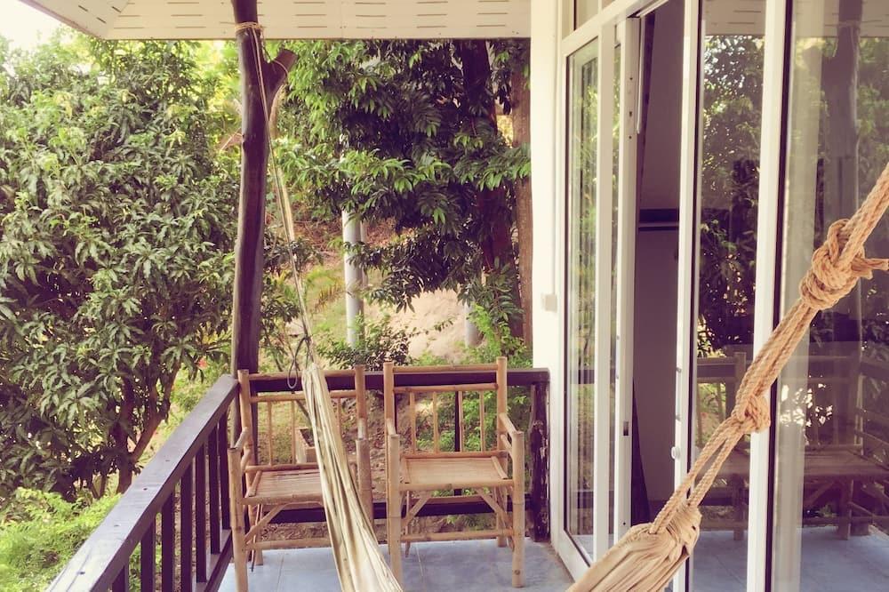 Bungalov typu Comfort, dvojlůžko (200 cm) - Balkón