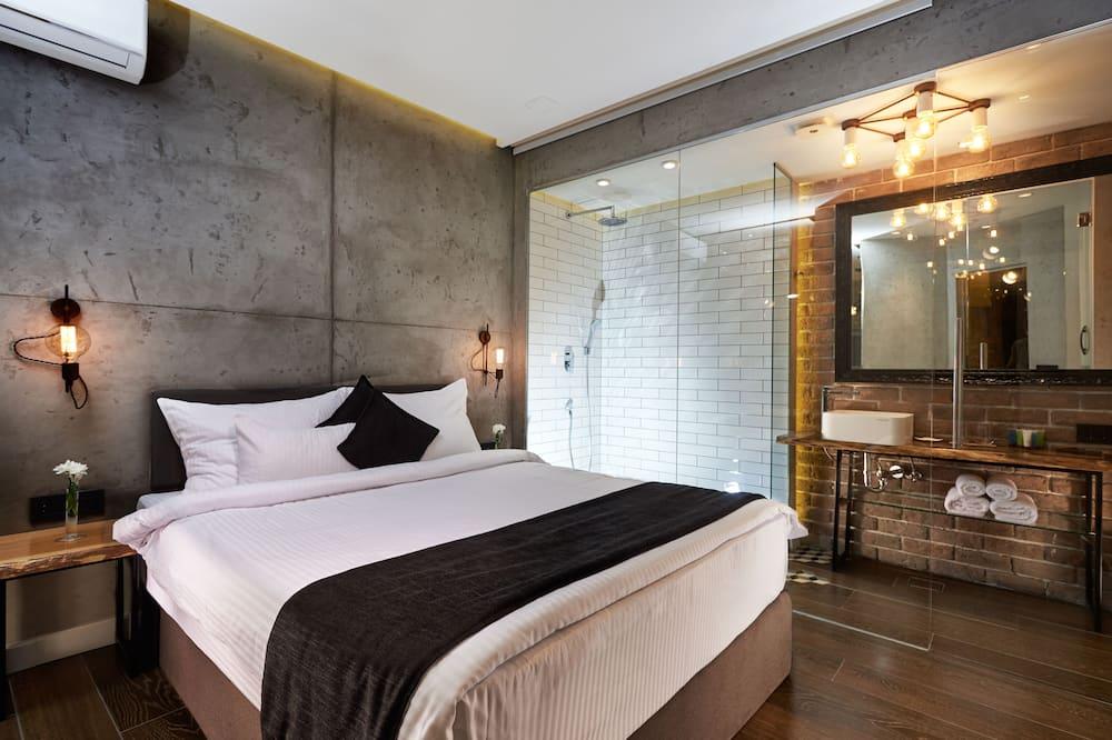 Luxury Apart Daire, 1 En Büyük (King) Boy Yatak ve Çekyat - Öne Çıkan Resim