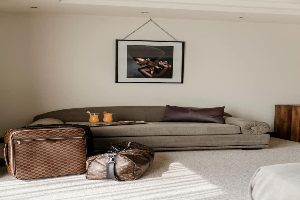 Chambre Double Confort, vue mer - Woonruimte