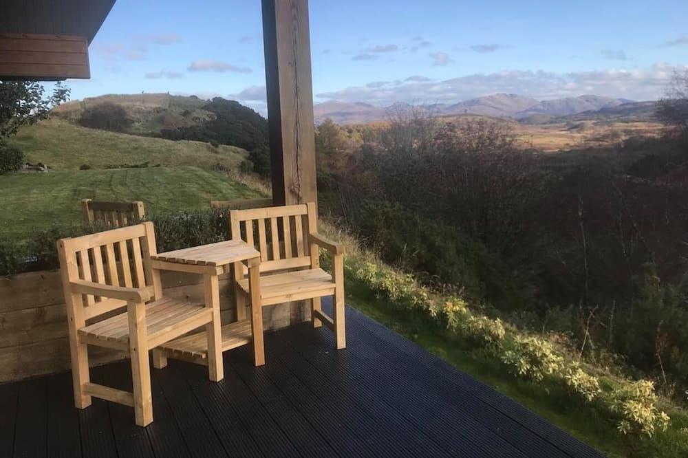 Dvojlôžková izba, balkón - Výhľad na hory