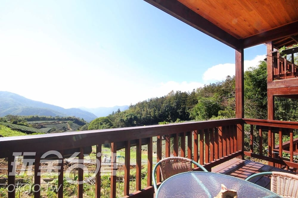 Rodinná chata - Balkón