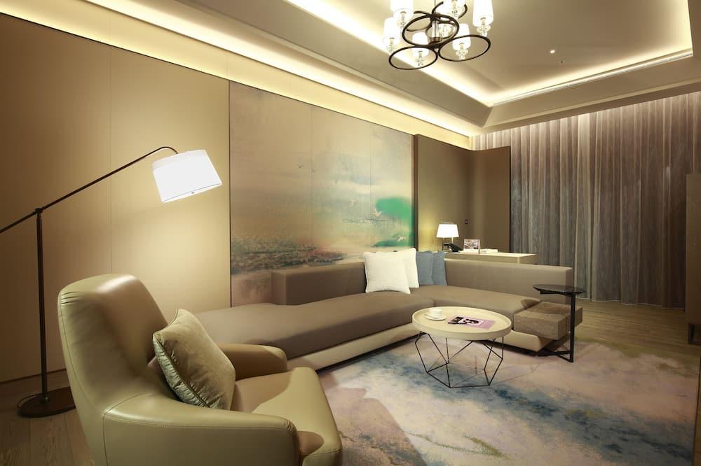 Apartmán typu Exclusive, 2 veľké dvojlôžka - Obývacie priestory