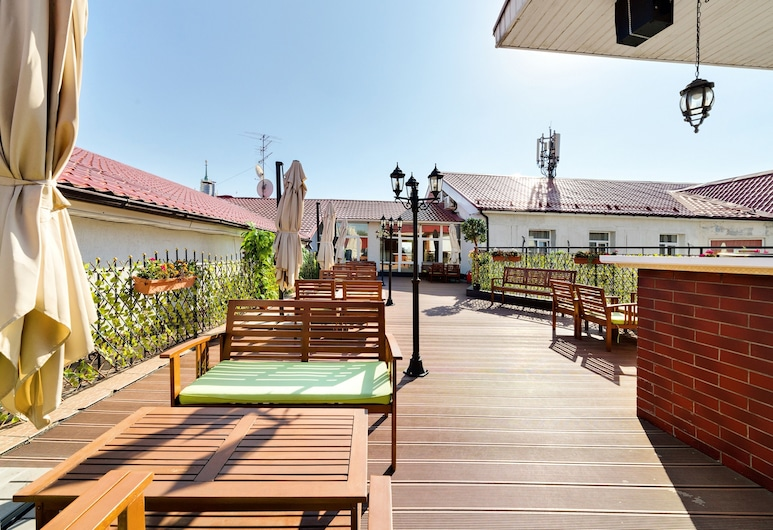Hotel Hitrovka, Moscow, Outdoor Dining
