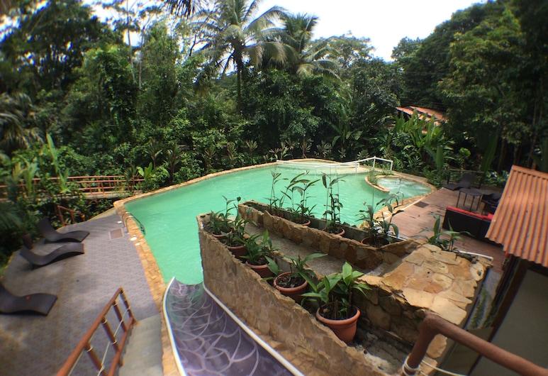 Rana Roja Lodge, Tortuguero, Escorrega aquático