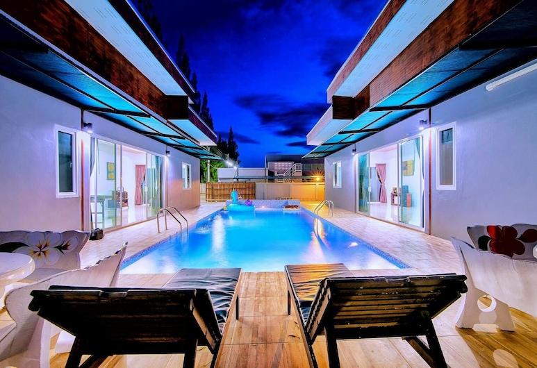 蒙德拉渡假屋, Hua Hin, Six Bedrooms Suite Home, 室外泳池