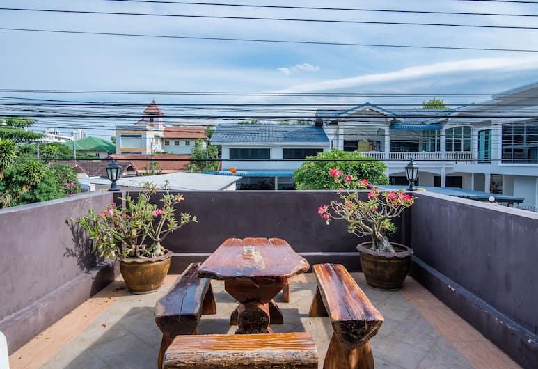 Baan Bua Residence, Hua Hin, Superior-rum - 1 sovrum - icke-rökare, Balkong