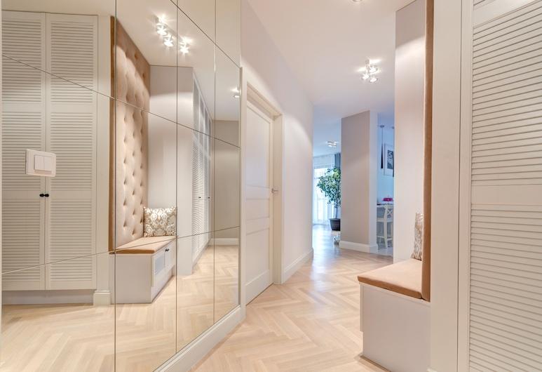 Dom & House - Apartments Marina Residence, Gdansk, Leilighet – executive, 2 soverom, balkong (6 adults), Oppholdsområde