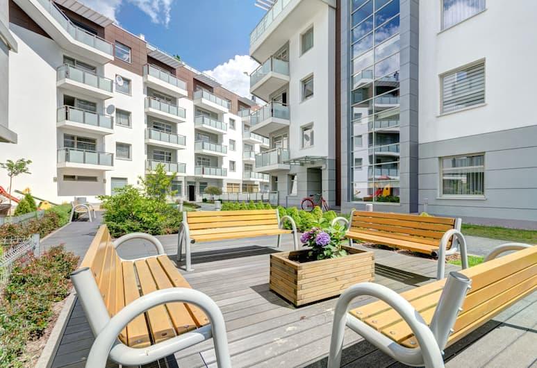 Dom & House - Apartments Marina Residence, Gdansk, Veranda