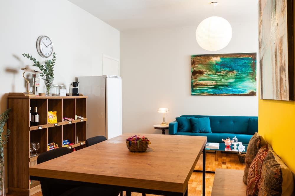 Doppia City, 1 letto matrimoniale, bagno condiviso - Area soggiorno