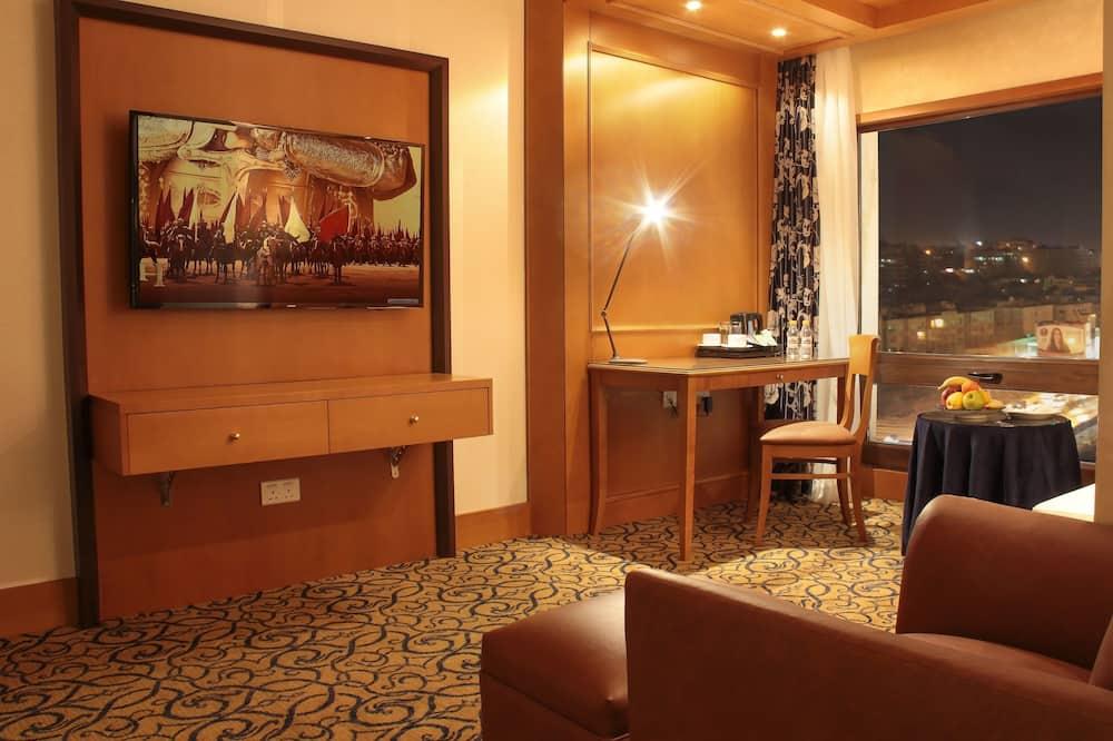 Deluxe Twin Room - Living Room
