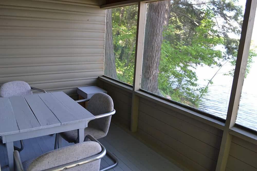 Cottage Économique, 2 chambres (Cottage #1) - Balcon