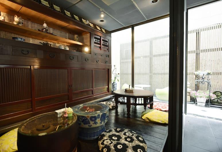 行燈日式旅館, 東京, 大廳休息區