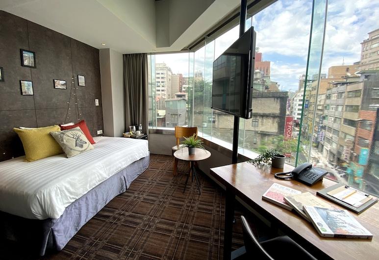 路徒行旅, 台北市, 豪華單人房, 1 張單人床, 客房景觀