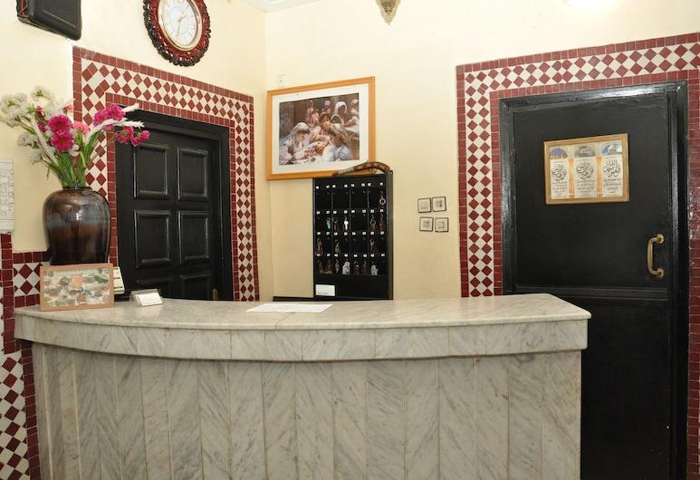 Hôtel Boustane, Casablanca, Rezeption