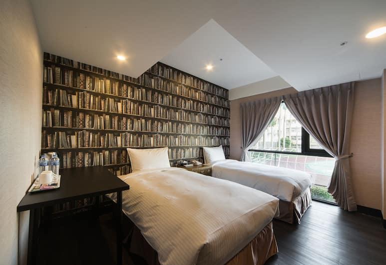 Hotel Fun - Linsen Branch, Taipei, Comfort - kahden hengen huone, 2 yhden hengen sänkyä, Vierashuone
