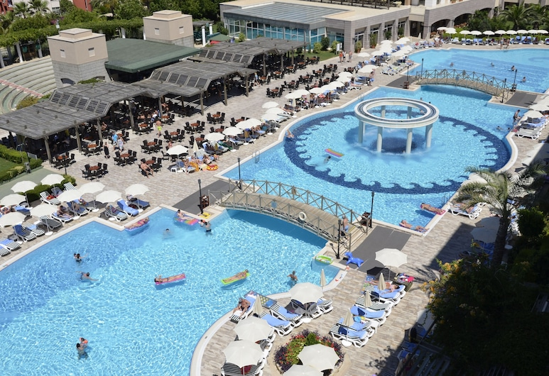 Trendy Aspendos Beach - All Inclusive, Side, Utendørsbasseng