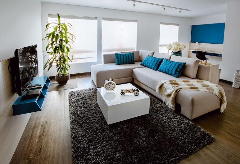 Daniel's Apart Hotel, Lima, Apartmá typu Deluxe, 1 ložnice, kuchyňský kout, Pokoj