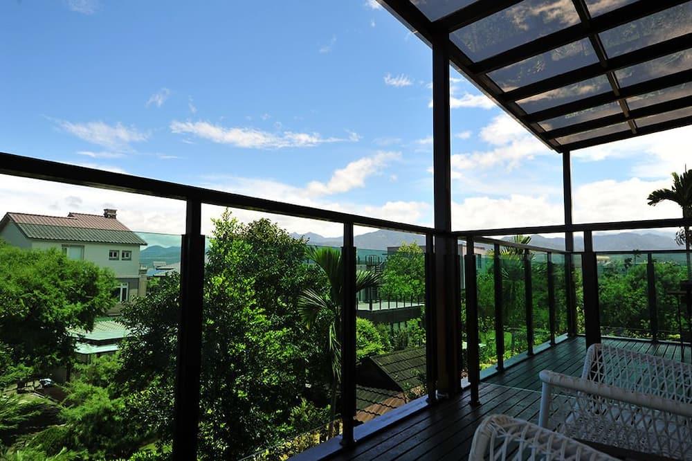 Chambre Double, 1 grand lit - Balcon