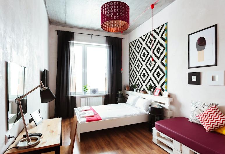 Hostel R.E.D., Jekaterinburg, Standard-Doppelzimmer, Gemeinschaftsbad, Zimmer