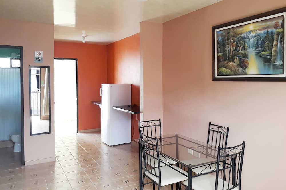 Basic Apartment, 2 Bedrooms, Refrigerator - Living Area