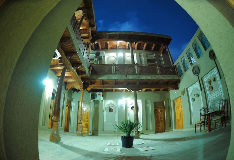 Ziyobaxsh Hotel, Bukhara, Innenhof